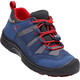 Keen Hikeport WP Shoes Youths Dress Blues/Firey Red